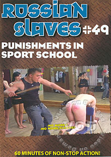 Russian Slaves #49 - Punishments In Sport School Box Cover
