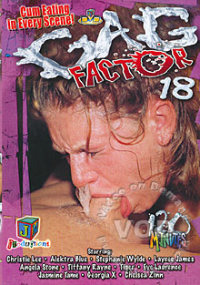 Gag Factor 18 Box Cover