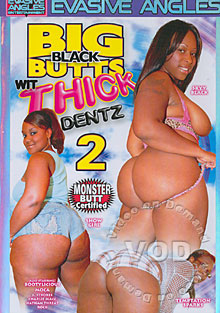 Big Black Butts Wit Thick Dentz 2 Box Cover