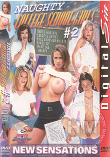 Naughty College School Girls #2 Box Cover