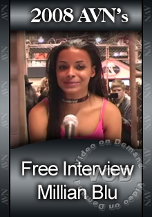 2008 AVN Interview - Millian Blu Box Cover