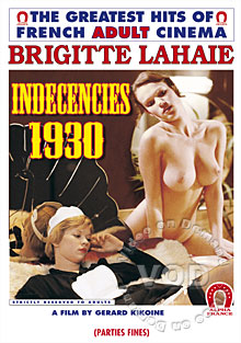 Indecencies 1930 (English Language) Box Cover