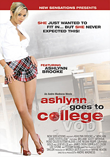 Ashlynn Goes To College Box Cover