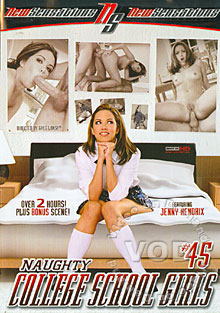 Naughty College School Girls #45 Box Cover