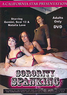 Sorority Spanking Box Cover