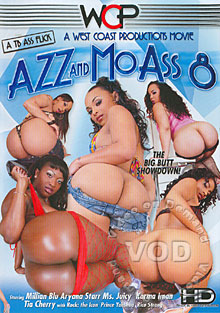 Azz And Mo Ass 8 Box Cover
