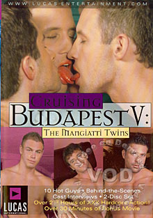 Cruising Budapest V: The Mangiatti Twins - Disc One Box Cover