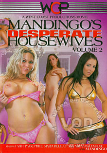 Mandingo's Desperate Housewives Volume 2 Box Cover