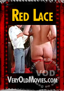 Red Lace Box Cover