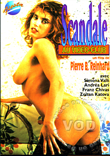 Scandale Au Videoclub Box Cover