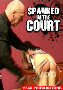 Spanked In The Court Box Cover