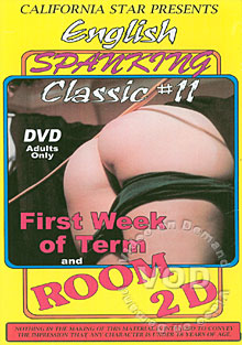 English Spanking Classic #11 - First Week of Term and Room 2D Box Cover