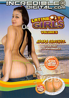Latin Booty Girls Volume 5 Box Cover