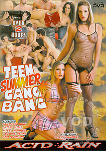 Teen Summer Gang Bang Box Cover
