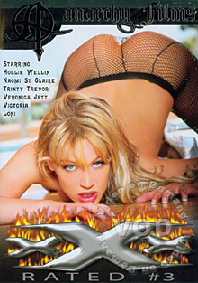 XXX Rated #3 Box Cover