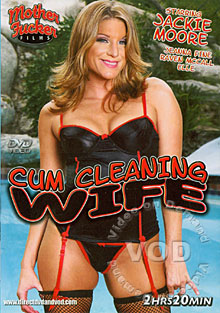 Cum Cleaning Wife Box Cover