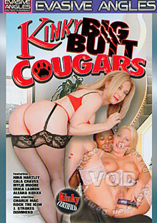 Kinky Big Butt Cougars Box Cover