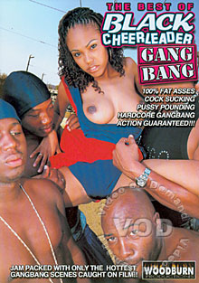 The Best Of Black Cheerleader Gang Bang Box Cover