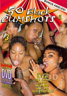 50 Black Cumshots #1 Box Cover