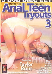 Anal Teen Tryouts 3 Box Cover