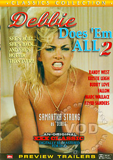 Debbie Does 'Em All 2 Box Cover