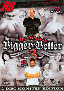 Shane & Boz : The Bigger The Better #3 (Disc Two) Box Cover