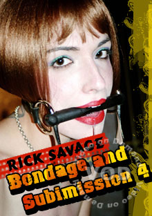 Rick Savage Bondage and Submission 4 Box Cover