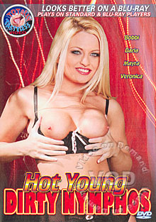 Hot Young Dirty Nymphos Box Cover