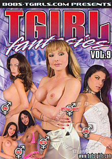 Tgirl Fantasies Vol. 9 Box Cover