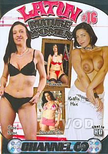 Latin Mature Women #16 Box Cover