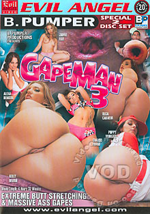 Gapeman 3 (Disc 2) Box Cover