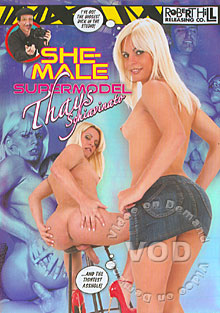 She-Male Supermodel - Thays Schiavinato Box Cover