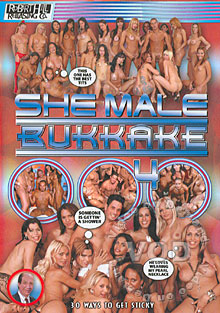 She Male Bukkake 4 Box Cover