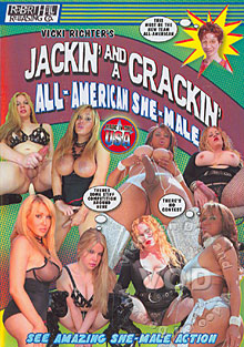 Jackin' And A Crackin' All-American She-Male Box Cover