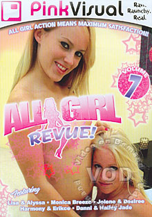 All Girl Revue! Volume 7 Box Cover