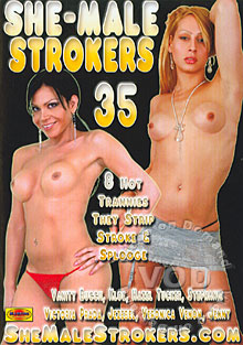 She-Male Strokers 35 Box Cover