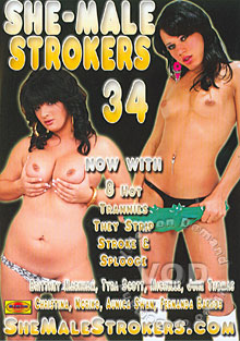 She-Male Strokers 34 Box Cover