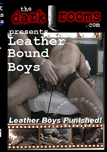 Leather Bound Boys Box Cover