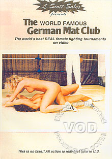 GM 2044: The World Famous German Mat Club - Naked Wrestling Box Cover