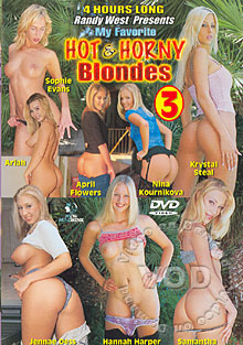 My Favorite Hot & Horny Blondes 3 Box Cover