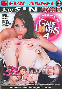 Gape Lovers 4 (Disc 2) Box Cover