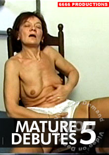 Mature Debutes 5 Box Cover