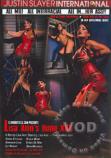 Lisa Ann's Hung XXX Box Cover