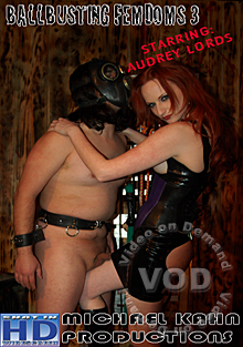 Ballbusting Fem Doms Audrey Lords Box Cover