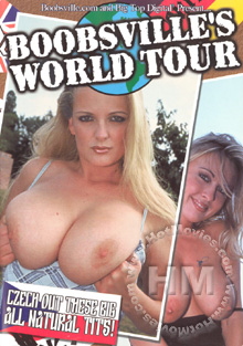 Boobsville's World Tour Box Cover