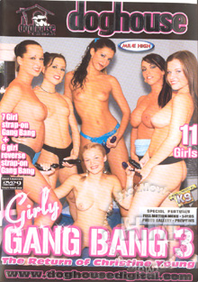 Girly Gang Bang 3 - The Return Of Christine Young Box Cover