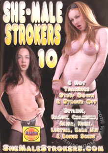She-Male Strokers 10 Box Cover