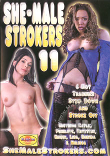 She-Male Strokers 11 Box Cover
