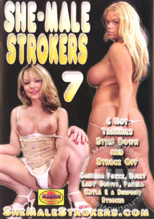 She-Male Strokers 7 Box Cover