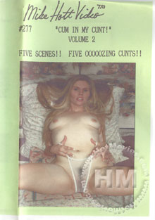 Cum In My Cunt!  Volume 2 Box Cover